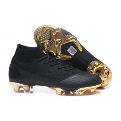 Nike Mercurial Superfly VI Elite FG Fotbollsskor för Män - Svart Guld