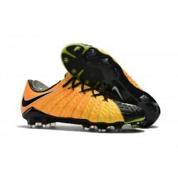 Nike Hypervenom Phantom III FG Fotbollsskor för Män - Gul Svart