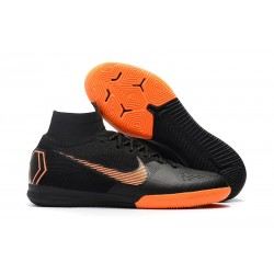 Nike Ronaldo Fotbollsskor för Dam Mercurial SuperflyX 6 Elite IC - Svart Orange