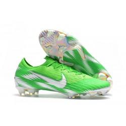 Nike Mercurial Vapor 12 Elite FG Fotbollsskor för Män - Grön Silver