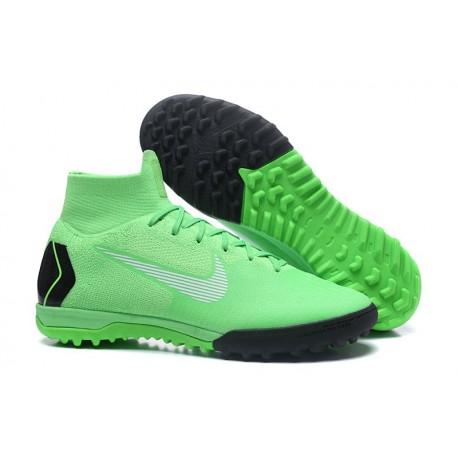 outlet store 27360 65602 Nike Mercurial SuperflyX VI Elite TF Fotbollsskor för Damer - Grön Svart