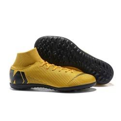 Nike Mercurial SuperflyX VI Elite TF Fotbollsskor för Damer - Guld Svart