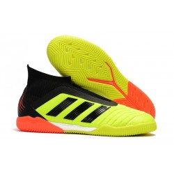adidas Predator Tango 18+ IN - Gul Orange Svart