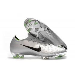 Nike Mercurial Vapor 12 Elite FG Fotbollsskor för Män - Silver Svart