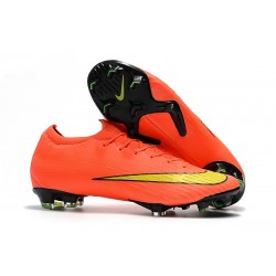 Nike Mercurial Vapor XII 360 Elite FG Fotbollssko - Orange Gul