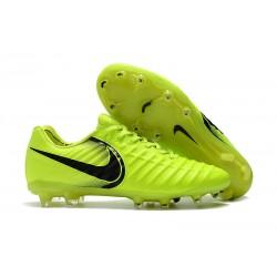 Nike Tiempo Legend 7 Elite FG Fotbollsskor för Herrar - Gul Svart