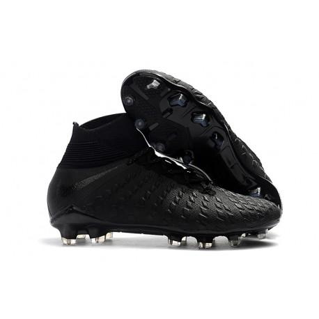finest selection 9adac 92108 Nike Hypervenom Phantom 3 Elite FG Fotbollsskor för Män - Svart Silver