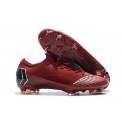 Nike Mercurial Vapor XII Elite FG ACC Fotbollsskor för Män - Röd Svart