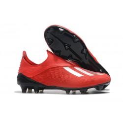 adidas X 18+ FG Fotbollsskor för Herrar - Röd Silver