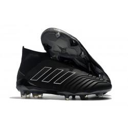 Adidas Predator 18+ FG Fotbollsskor för Herr - Shadow Mode Svart