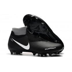 Fotbollsskor för Herr Nike Phantom Vsn Elite DF FG - Svart Orange