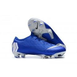 Nike Mercurial Vapor XII Elite FG ACC Fotbollsskor för Män - Blå Silver
