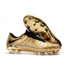 Nike Hypervenom Phantom 3 Elite FG Fotbollsskor - Guld Svart