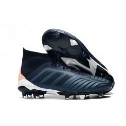 adidas Predator 18.1 FG Herrar Fotbollsskor - Cyan Svart