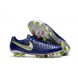 Nike Magista Opus 2 Elite FG Fotbollsskor för Herrar - Blå Silver