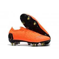 Nike Mercurial Vapor 12 Elite SG-PRO Anti-Clog Orange Svart