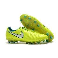 Nike Magista Opus 2 Elite FG Fotbollsskor för Herrar - Gul Vit