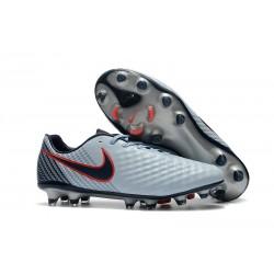 Nike Magista Opus 2 Elite FG Fotbollsskor för Herrar - Grå Röd