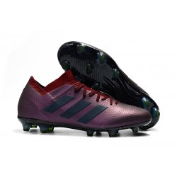adidas Nemeziz Messi 18.1 FG Fotbollsskor för Herrar - Lila Svart