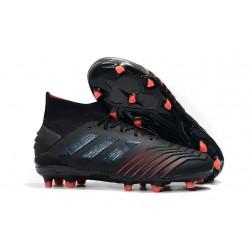 Fotbollsskor adidas Archetic Predator 19.1 FG för Herrar - Svart Röd