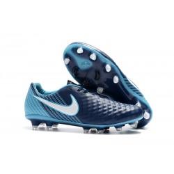 Nike Magista Opus 2 Elite FG Fotbollsskor för Herrar - Blå Vit