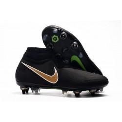 Nike Phantom Vision Elite DF SG-PRO Anti-Clog Svart Guld