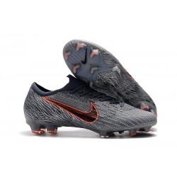 Fotbollsskor 2019 Nike Mercurial Vapor XII 360 Elite FG Grå Orange