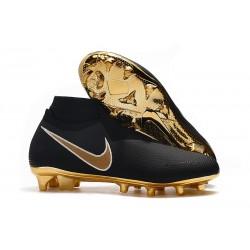 Fotbollsskor för Herr Nike Phantom Vsn Elite DF FG - Svart Guld