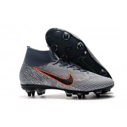 Nike Mercurial Superfly 6 Elite AC SG-Pro Grå Orange
