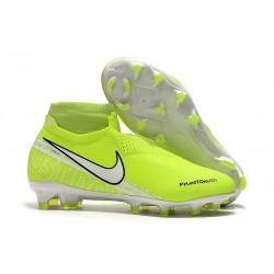 Fotbollsskor för Herr Nike Phantom Vsn Elite DF FG - Volt Vit
