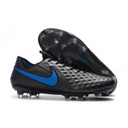 Nya Fotbollsskor Nike Tiempo Legend VIII FG Svart Blå