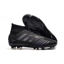 Fotbollsskor adidas Predator 19.1 FG för Herrar - Svart