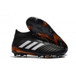 Fotbollsskor Adidas Predator 18+ FG för Herrar - Svart Vit