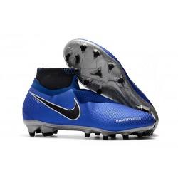 Fotbollsskor Nike Phantom Vision Elite Dynamic Fit FG - Blå Silver