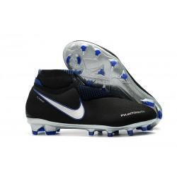 Fotbollsskor Nike Phantom Vision Elite Dynamic Fit FG - Svart Blå