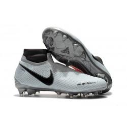 Fotbollsskor Nike Phantom Vision Elite Dynamic Fit FG - Grå Röd