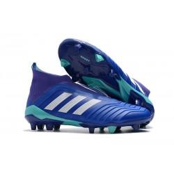 Fotbollsskor Adidas Predator 18+ FG för Herrar - Blå Vit