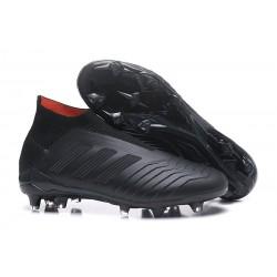 Fotbollsskor Adidas Predator 18+ FG för Herrar - Svart
