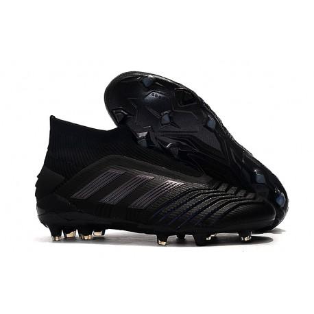 Fotbollsskor för Män adidas Predator 19+ FG Svart