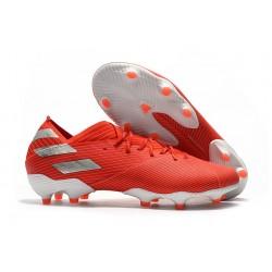 Fotbollsskor för Män adidas Nemeziz 19.1 FG - Röd Silver