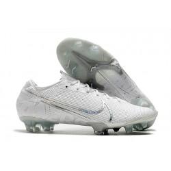 Nike Mercurial Vapor 13 Elite FG Fotbollsskor för Män - Vit