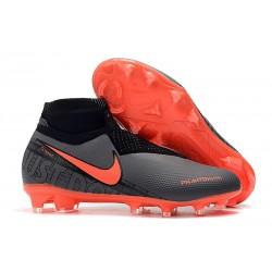 Fotbollsskor för Herr Nike Phantom Vsn Elite DF FG - Svart Röd