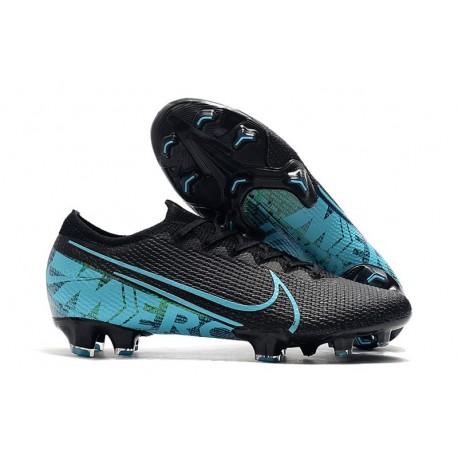 Nike Mercurial Vapor 13 Elite FG Fotbollsskor för Män - Svart Blå