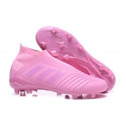 Fotbollsskor Adidas Predator 18+ FG för Herrar - Rosa