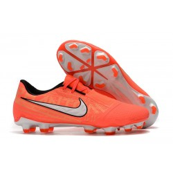 Nike Phantom Venom Elite FG Fotbollsskor Orange Vit