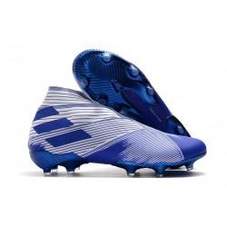 adidas Fotbollsskor för Män Nemeziz 19+ FG Vit Blå