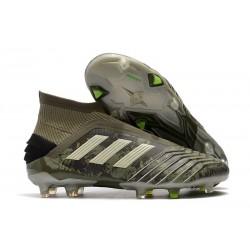 adidas Predator 19+ FG Fotbollsskor för Herrar - Grön