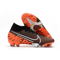 Nike Mercurial Superfly 7 Elite SE FG -Svart Orange