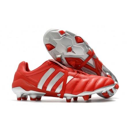adidas Predator 19+ FG Fotbollsskor för Herrar - Röd Silver