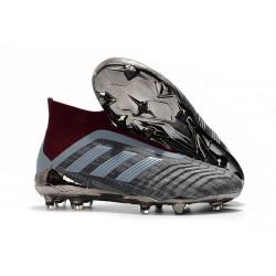 Paul Pogba PP Adidas Fotbollsskor för Män Predator 18+ FG - Grå Röd